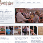 Catholic Church of the Holy Spirit Website - Completed