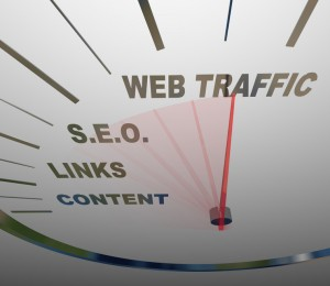 Web Traffic Increases Using SEO